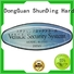 bottle steel aluminum ShunDing Brand self adhesive metal labels factory