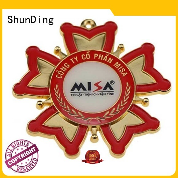 ShunDing plate personalised metal badges experts for auction