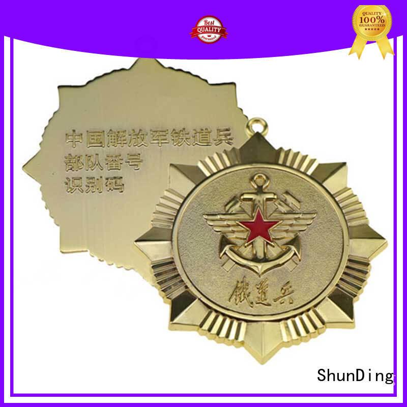 ShunDing quality custom metal pin badges supplier for identification