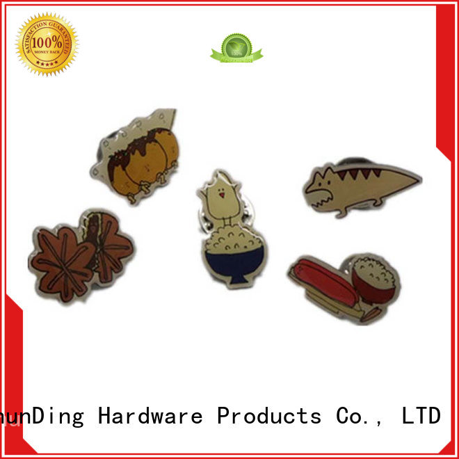 price customized diecasting ShunDing Brand metal badge