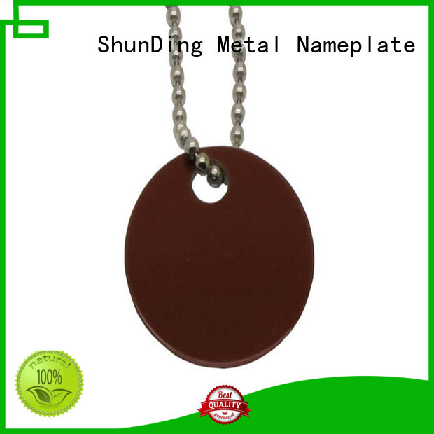 inexpensive engraved metal tags anodized cost for company