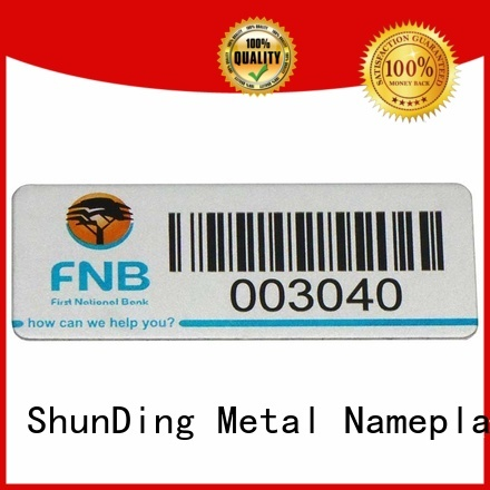 ShunDing epoxy barcode label factory price for meeting