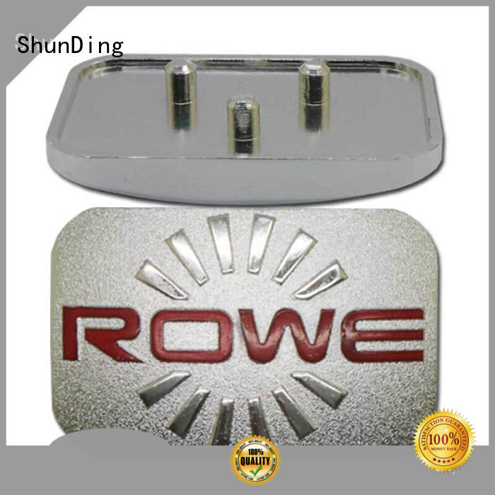 ShunDing aluminum office name plates with good price for activist