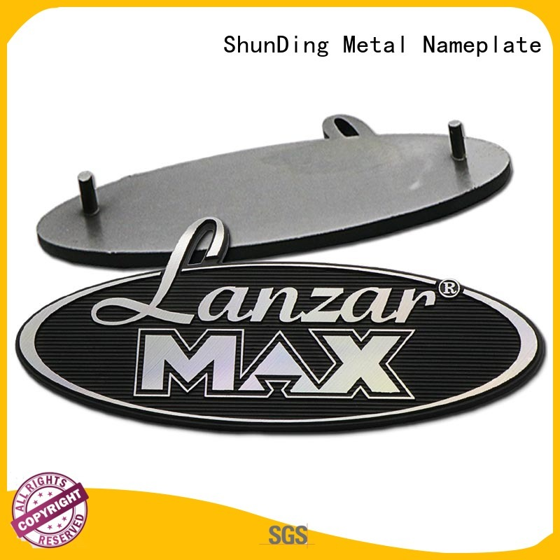ShunDing quality custom name plates with cheap price for activist