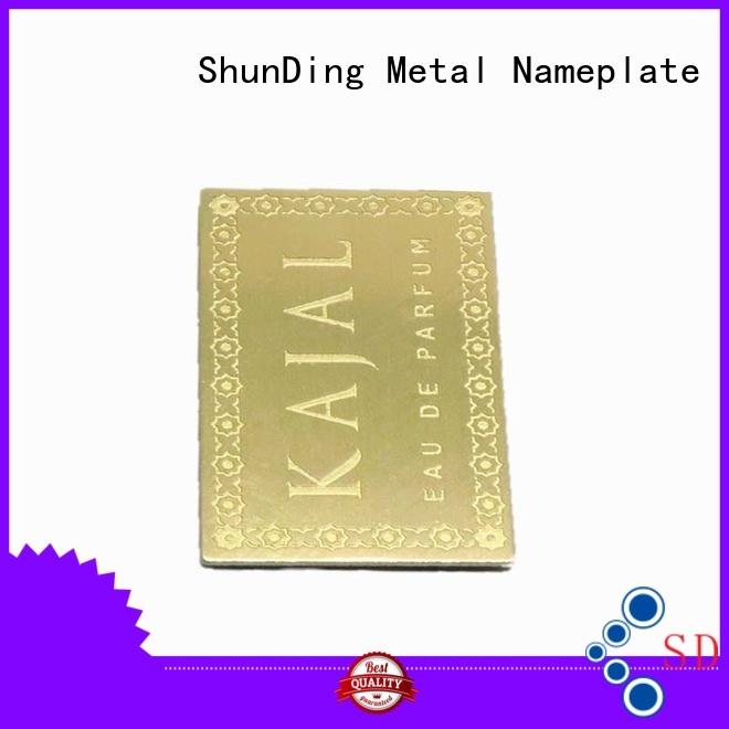 ShunDing magnificent aluminium labels free quote for identification