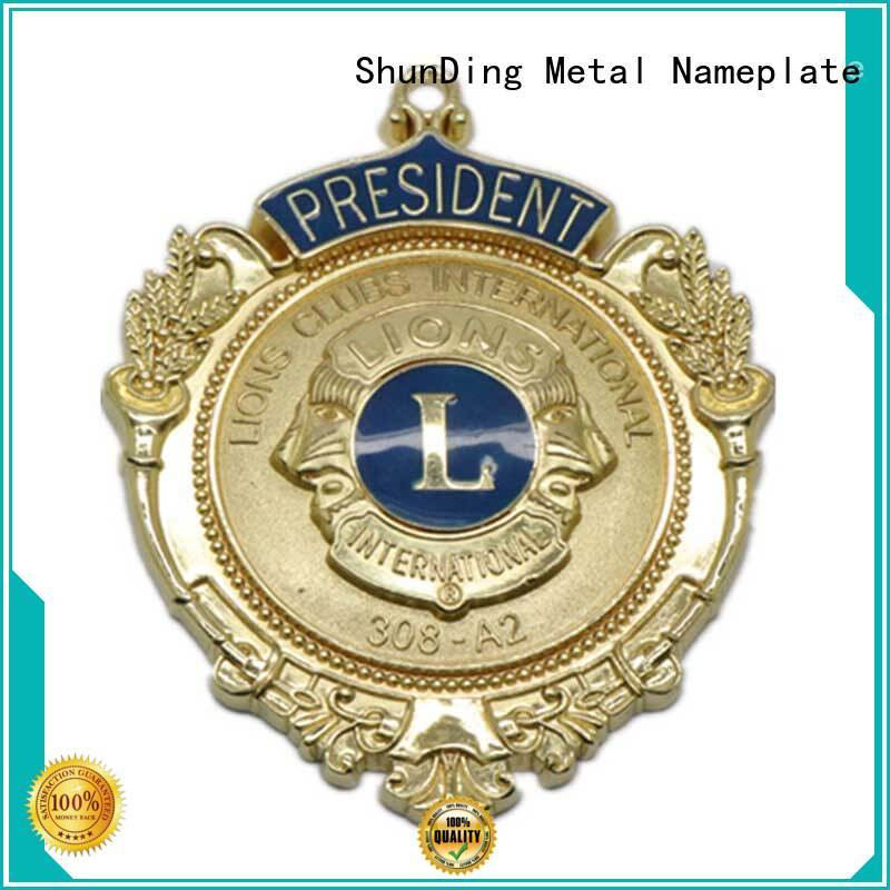 stunning metal name badges magnetic owner for souvenir