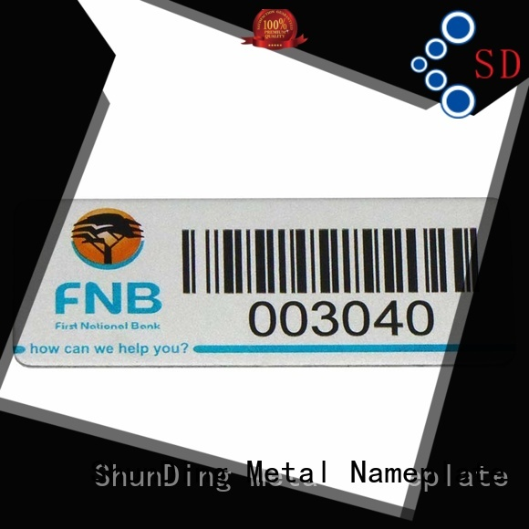 new-arrival metal adhesive labels laser free quote for auction