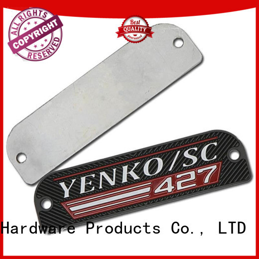 durable custom name tags luxury with cheap price for meeting
