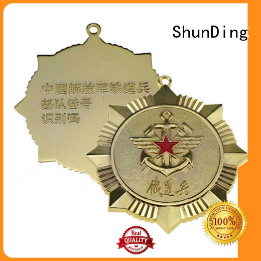 ShunDing Brand badge price private souvenir metal badge