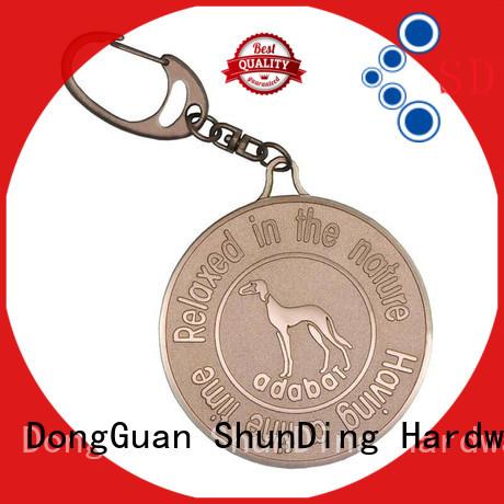 ShunDing Brand custom anodized garment metal dog tags