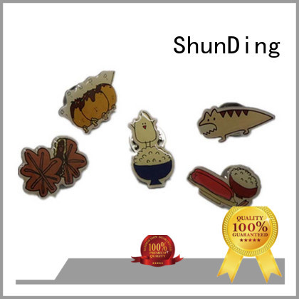 ShunDing own metal pin badges for-sale for identification