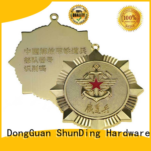ShunDing quality personalised metal badges for identification