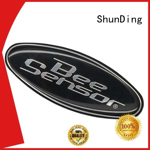 etched etching metal sticker ShunDing Brand
