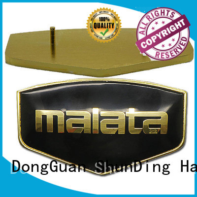 ShunDing durable custom name plates directly sale for souvenir