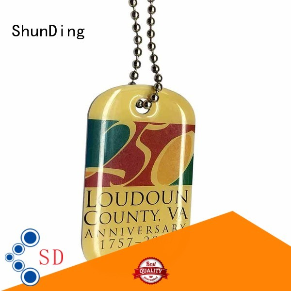 high-quality metal tags pattern free design for activist