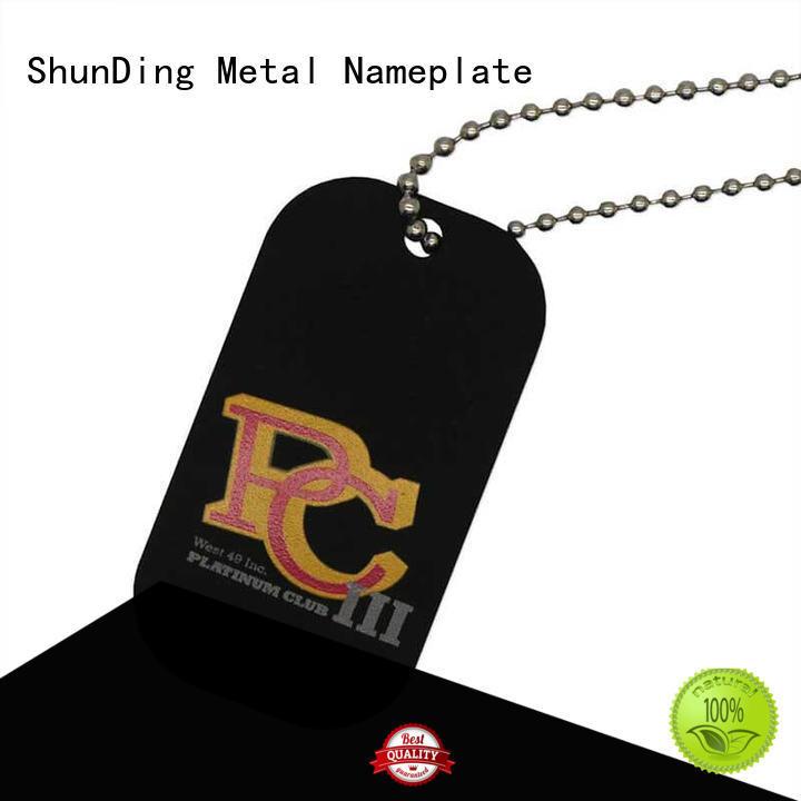 inexpensive key tag sandblasted free design for identification