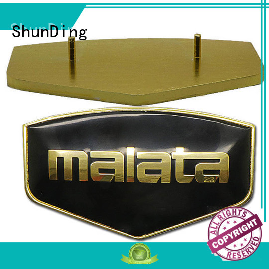 ShunDing first-rate metal engraved name plates factory price for staff
