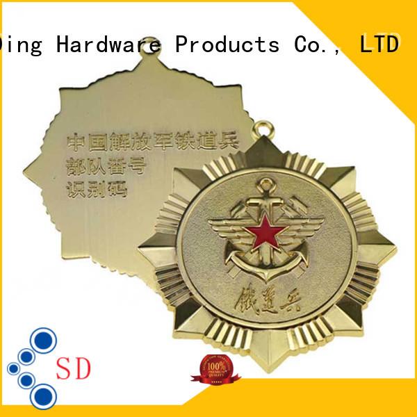 ShunDing fine- quality custom metal logo badges price for company