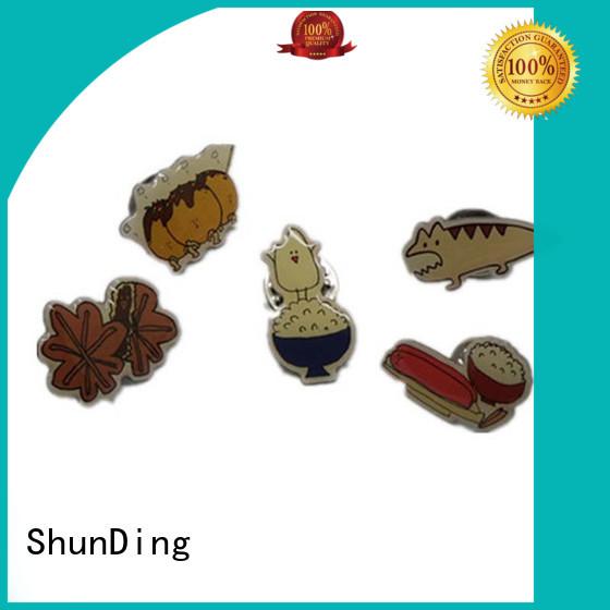 ShunDing design metal security badge supplier for souvenir
