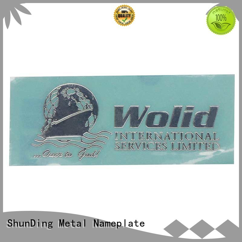 plate metal plate sticker inquire now for souvenir ShunDing