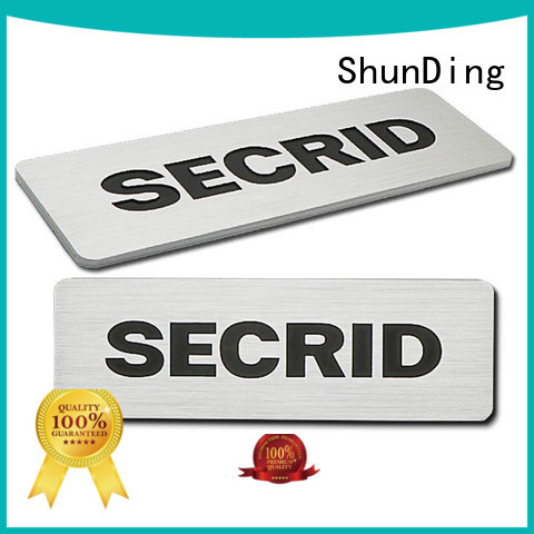 durabledoor name plates domed factory price for auction