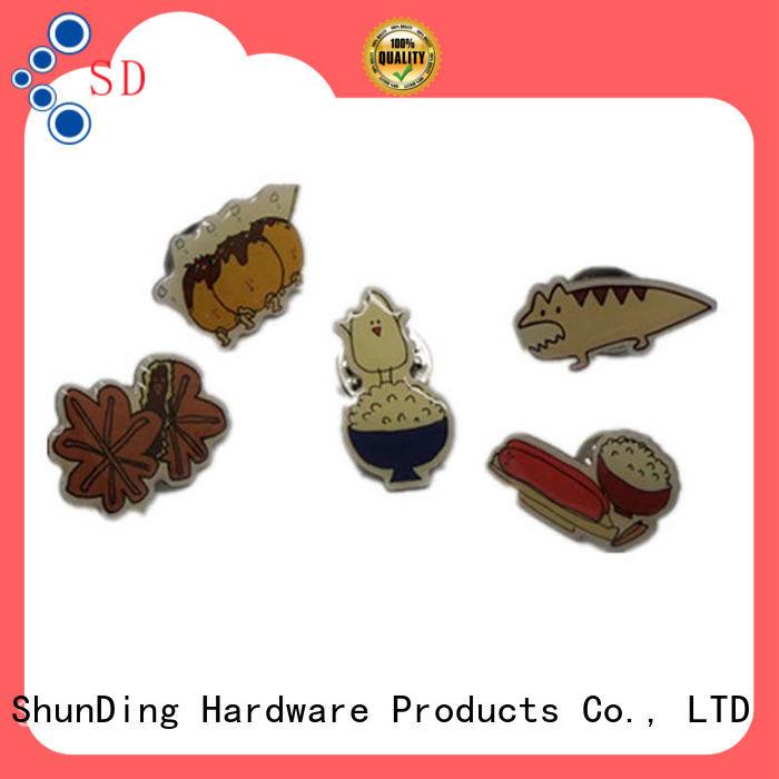 Quality ShunDing Brand metal police badge selling
