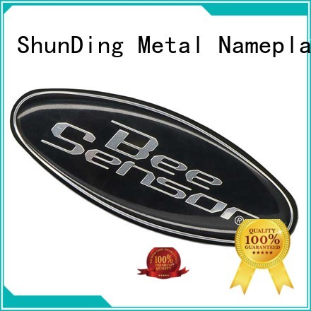ShunDing first-rate aluminum sticker from China for staff