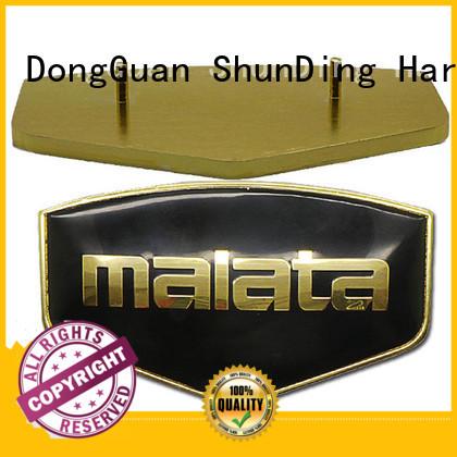 ShunDing domed desk name plaques factory price for souvenir