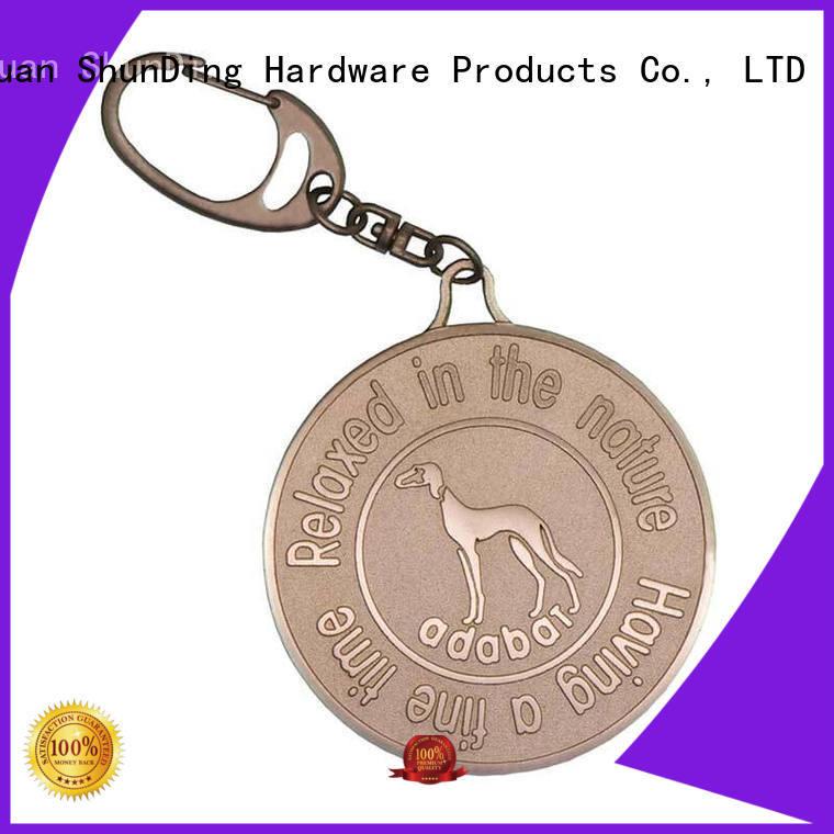 pattern key tag sandblasted ShunDing company