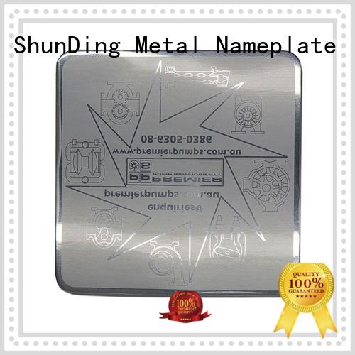 ShunDing popular aluminum sticker with good price for commendation