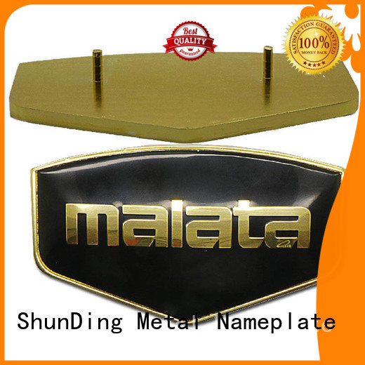 ShunDing newly personalized name plates inquire now for meeting
