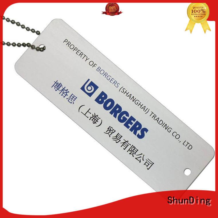 metal dog tags custom anodized key tag manufacture