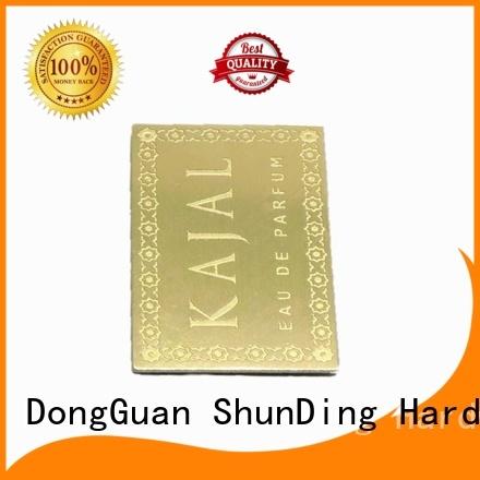 ShunDing perfume metal adhesive labels bulk production for company