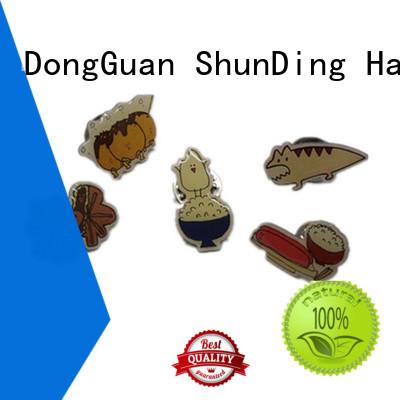 selling metal logo badge for company ShunDing