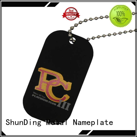 ShunDing high-quality key tag marketing for staff