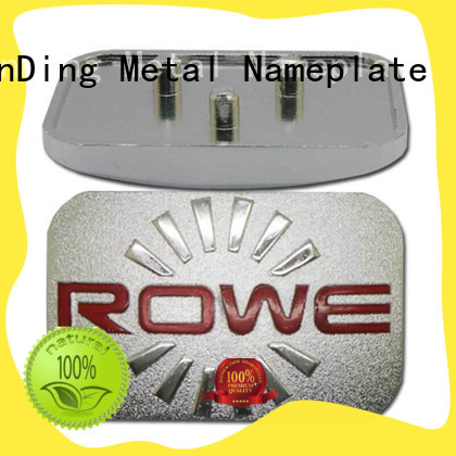 desk name plaques silver for staff ShunDing