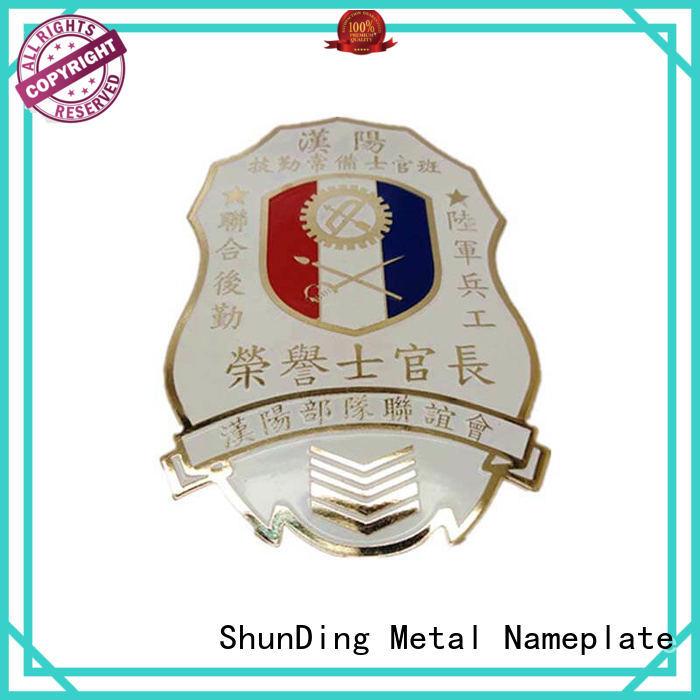 ShunDing fine- quality custom metal medal supplier for staff