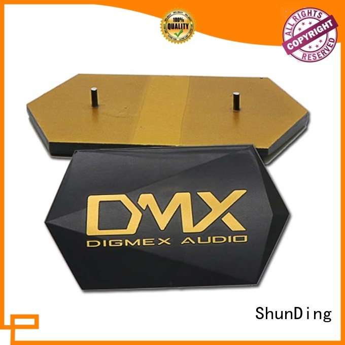 high-quality aluminum name plate directly sale for auction ShunDing