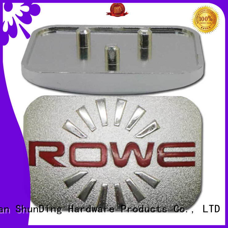 ShunDing metal office name plates directly sale for company