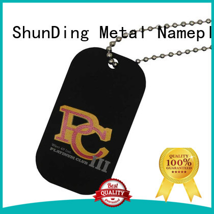 ShunDing high-quality brand tag price for meeting