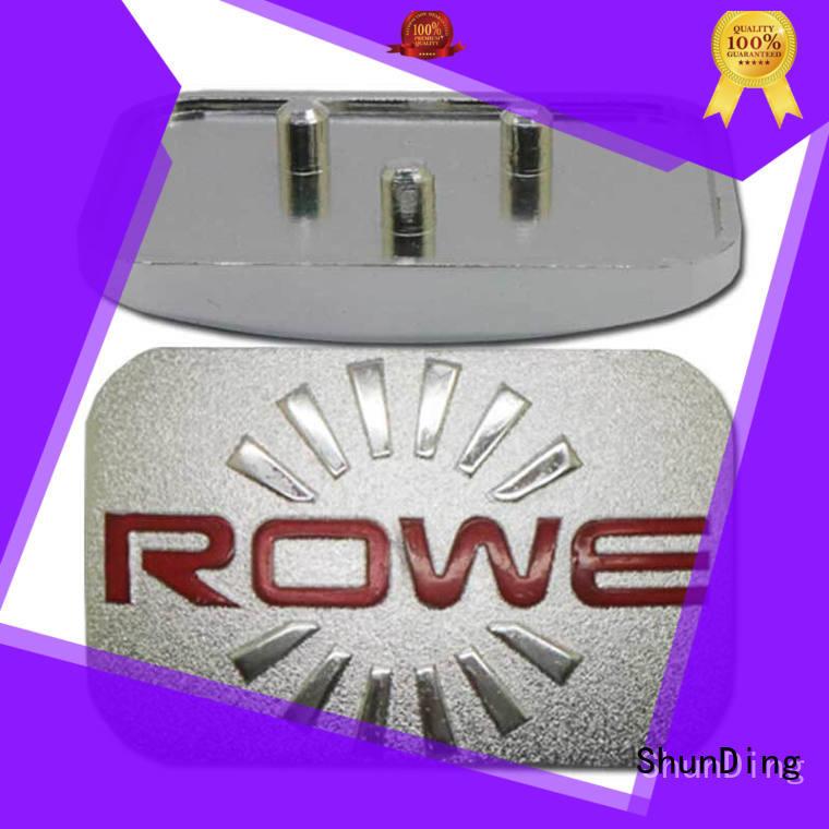 metal name plate aluminum luxury nameplate door name plates manufacture