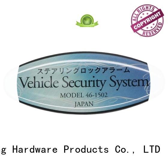 ShunDing fine- quality aluminum labels free design for auction