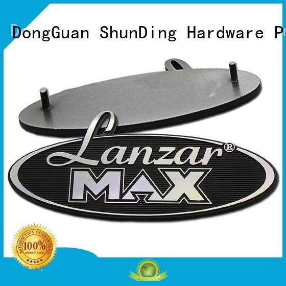 engraved name plates embossed for auction ShunDing
