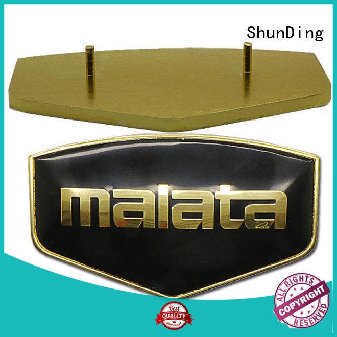 Quality ShunDing Brand metal name plate metal nameplate