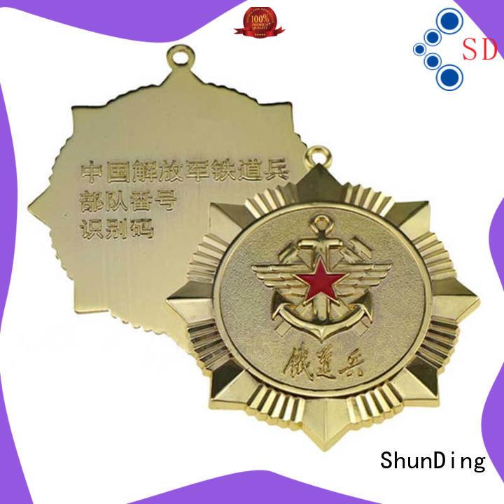 ShunDing quality badge metal for staff