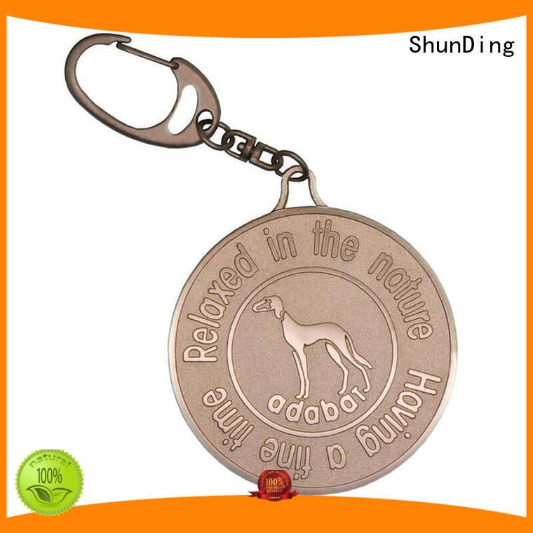 ShunDing inexpensive engraved metal tags long-term-use for staff