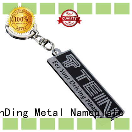 ShunDing brushed metal tag price for commendation