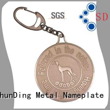 garment metal tags price for auction ShunDing