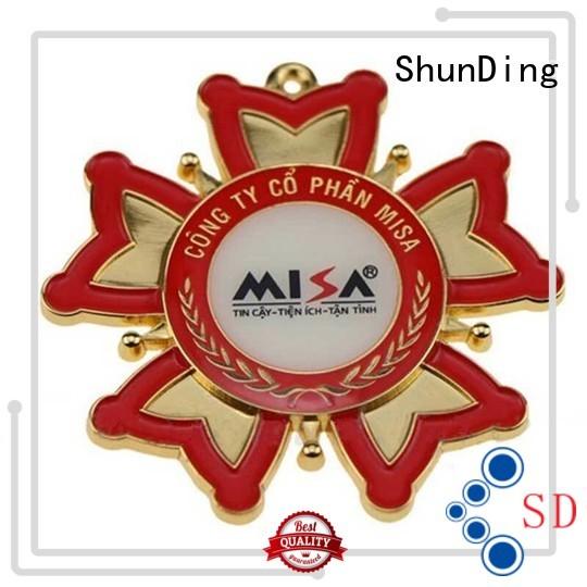 metal badge manufacturers lovely for meeting ShunDing