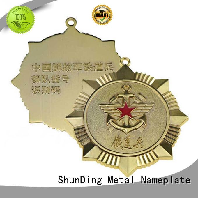 ShunDing selling metal logo badge supplier for company